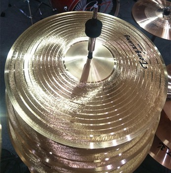 practice cymbals with brass material cymbals