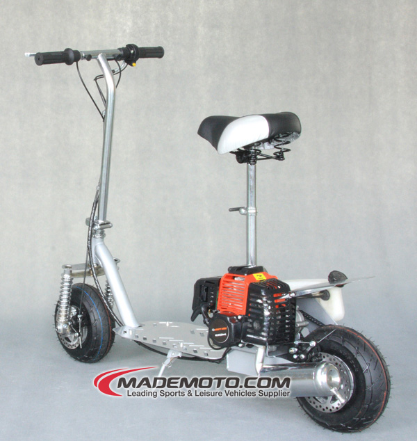 49cc 2-stroke Mini Stand Up Gas Scooter - Buy Stand Up Gas Scooter,Snow Gas  Scooter,Small Gas Scooter Product on Alibaba com