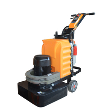 Multi-head concrete marble floor grinding and polishing machine with water tank