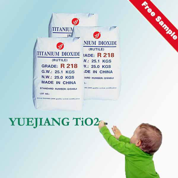 Good Compatibility TiO2 Rutile R218 for paint