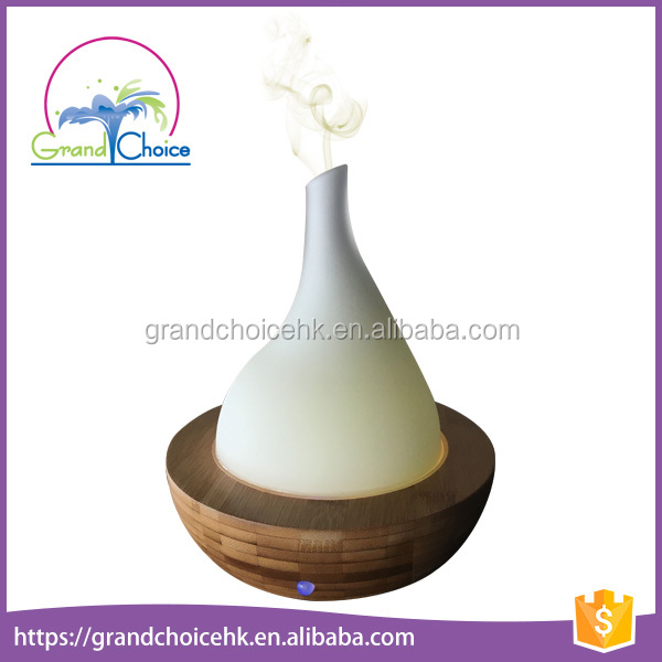Portable hot top aromatherapy diffuer bamboo essential oil diffuser
