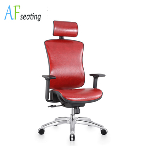 AF Seating BIFMA Foshan Office Desk Guest Chair Red Chair 1606A