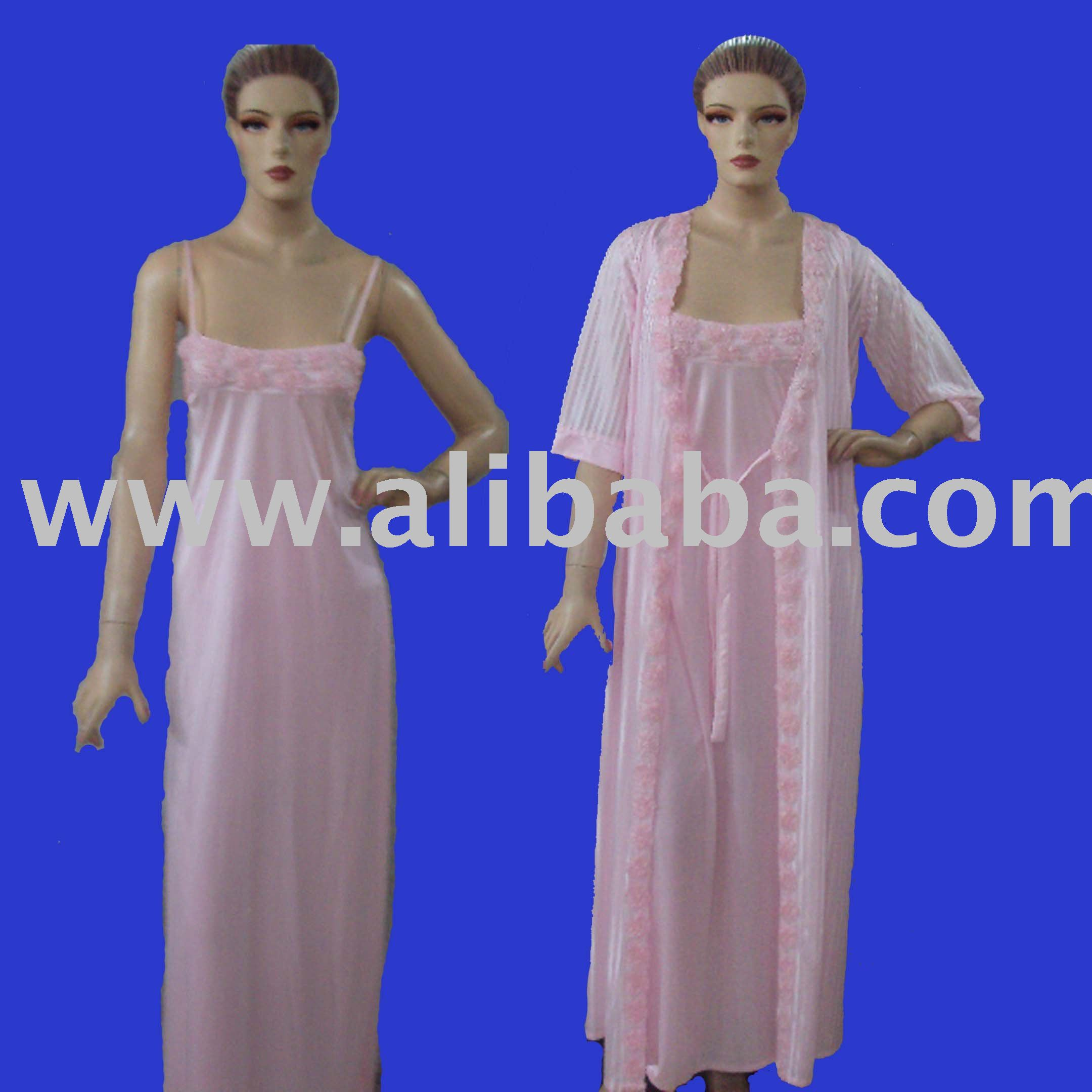 Two Piece Nighty Gown - Buy \