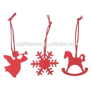 hot new products for christmas decoration custom ornament felt hanging christmas polystyrene snowflake made in china