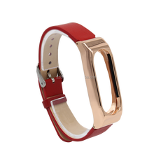 17mm Men's leather Red Replacement Watch Band Strap fits SWATCH watches