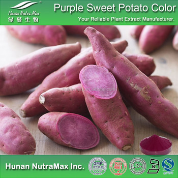 100% Natural Food Coloring Purple Sweet Potato Color Pigment E10-70 ...