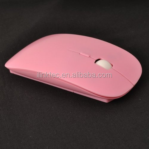 Hot sales thin usb 2.4g wireless mouse gaming mouse for MC book computer PC