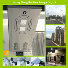 15 to 40W LED solar post light all in one street and garden light using PHILIP chips lamp