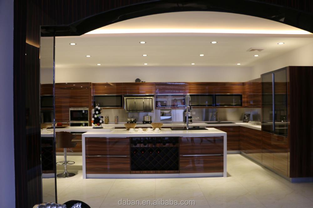 Cocina Despensa Gabinete Diseño/aluminio Diseño Del Gabinete De ...
