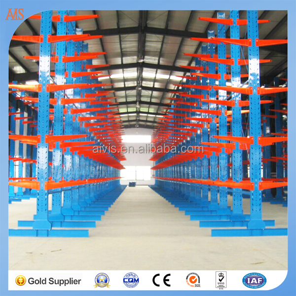 Raw Material Storage Rack , sheet storage cantilever racking systems