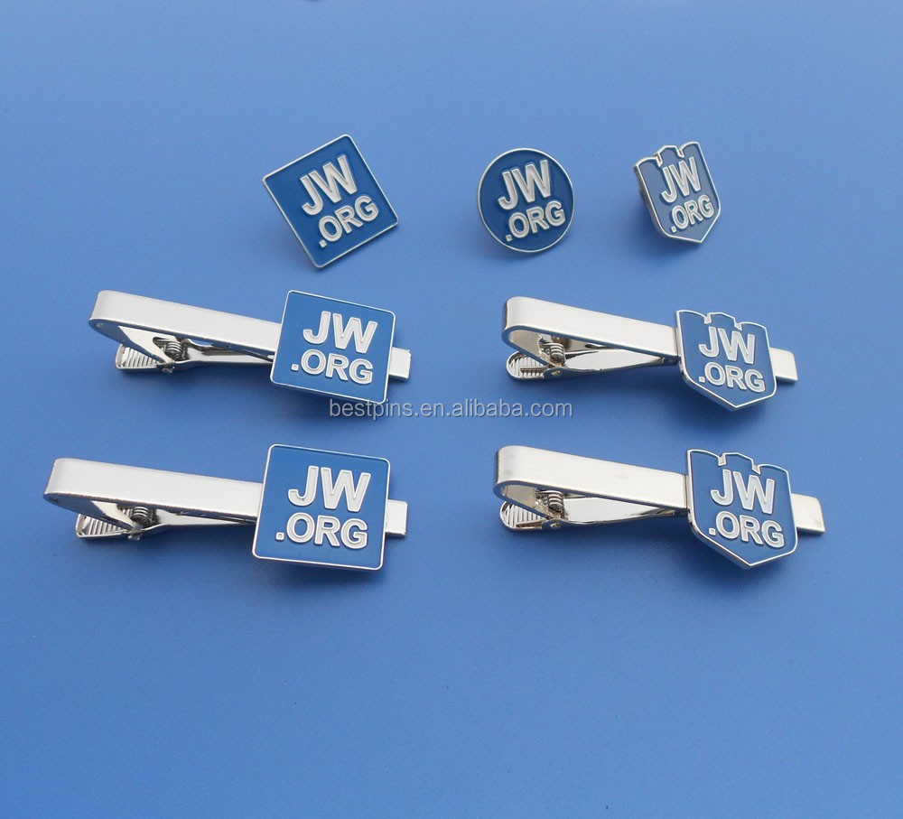 5c252b518b55 Promotional Jw.org Lapel Pins And Tie Clips Gifts Item - Buy Jw.org Tie  Clips,Custom Logo Silver Tie Bar,Custom Jw.org Lapel Pin And Tie Clips  Product on ...