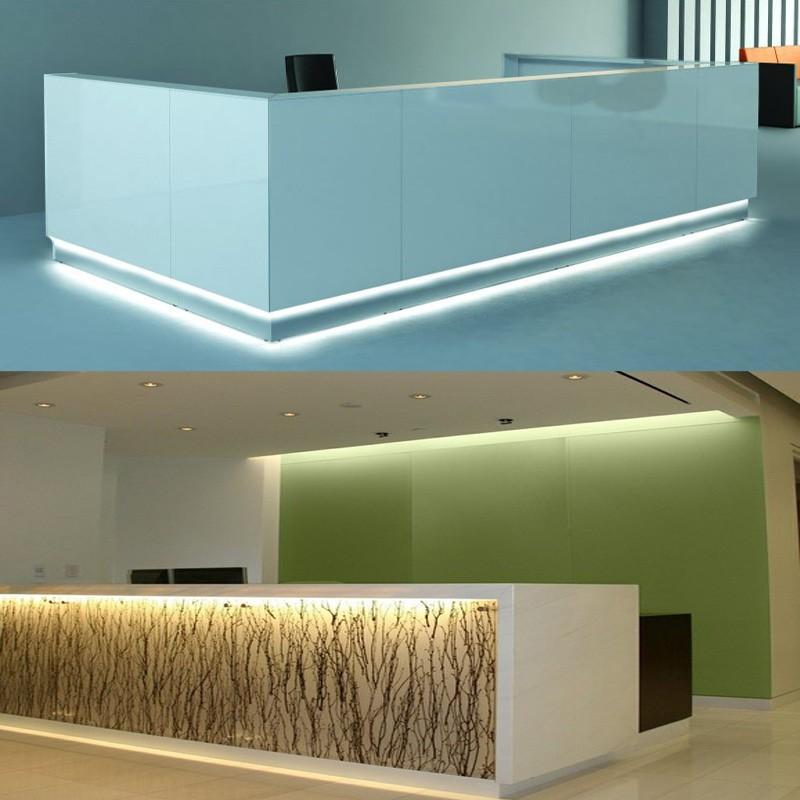 Luxury beauty salon furniture of reception desk buy for Luxury beauty salon furniture