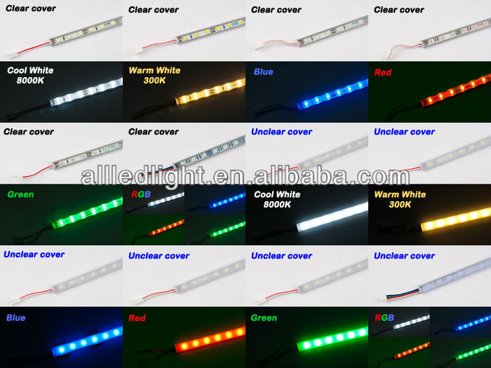 CE RoHS approved 12V led rigid bar for cabinet / kitchen led light