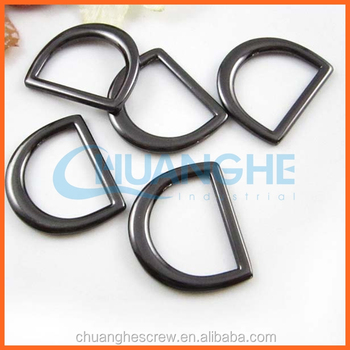 China Suppliers Roller D Ring Buckle