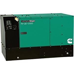 Cummins Onan Quiet Series Diesel RV Generator - 12.5 kW, Model# 12.5HDKCB-11506
