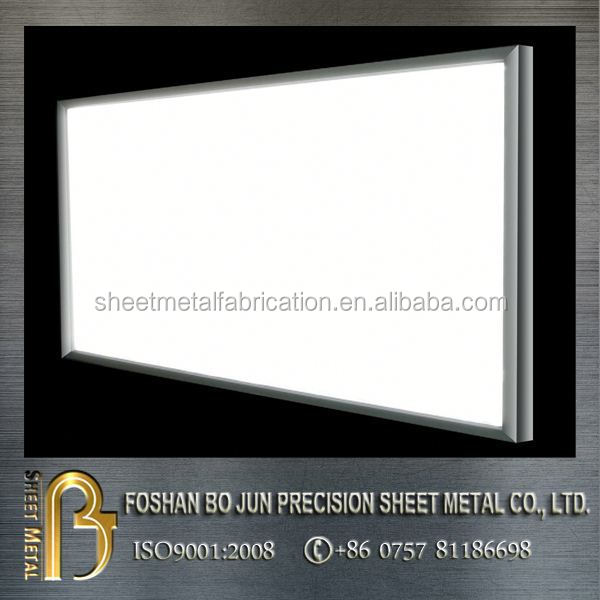 customized aluminum art/photo display frame sheet metal fabricating service