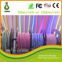 Flex/soft 220v 110v led flexible strip led 5050 smd colorful cover waterproof led strip 220v high volt 50m/100m