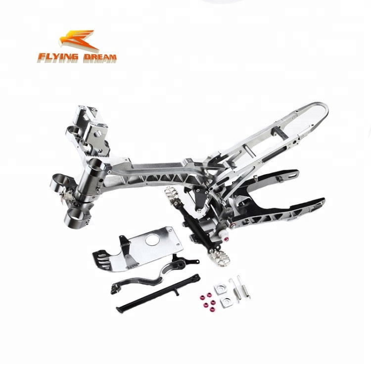 pit dirt bike motorcycle CRF50 frame CNC Billet alloy frame