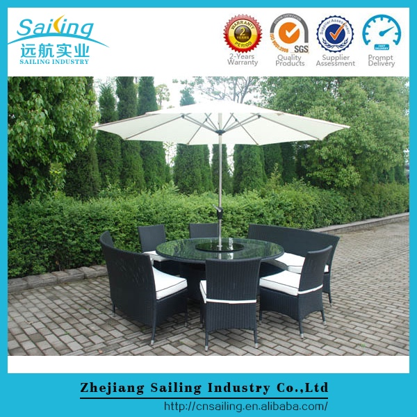 Promotion All Weather Uv And Waterproof Restaurant Furniture