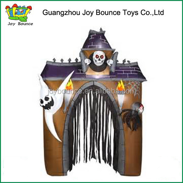 New Archway Haunted House Helloween Inflatable Arch on sale