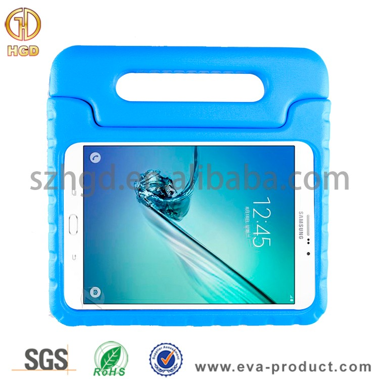 Kid proof EVA foam handle case for samsung galaxy tab s2 8.0