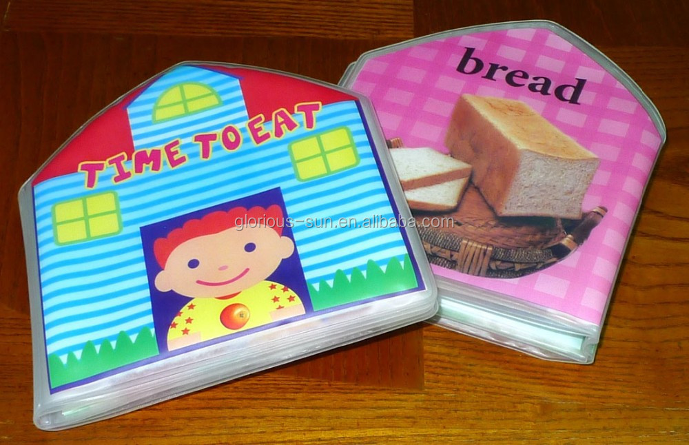 Superior Quality and Uniquely Designed Offset Printing Bath Book with Meal Time Pictures