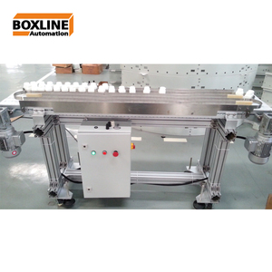 cache line for conveyor system transport glass bottle waterproof conveyor system with 90 degree