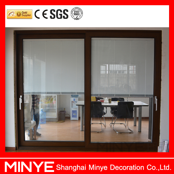 Commercial Sliding Glass Doors With Built In Blinds By Remote ...