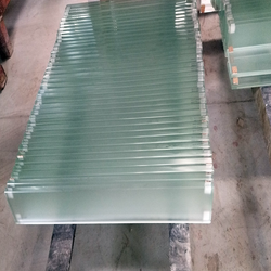Hot new products greenhouse solar glass panels insulated with float factory direct sale price