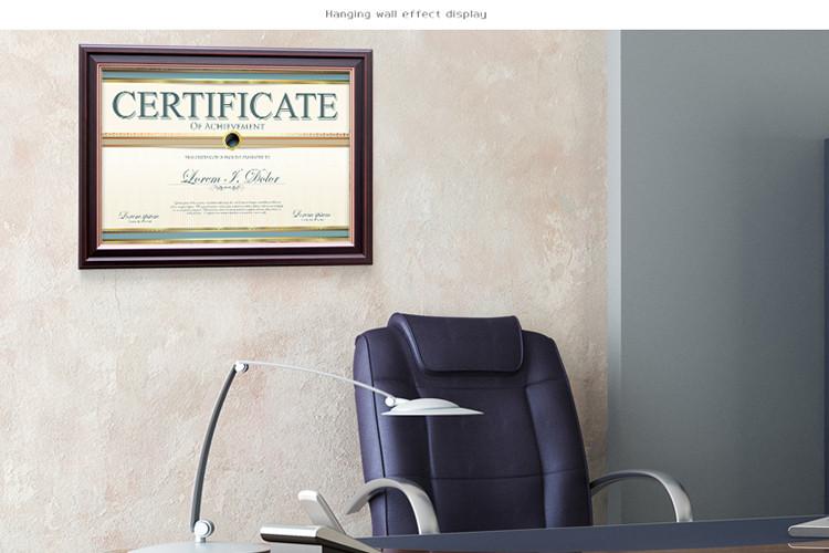 A4 Marcos De Madera Para El Diploma De Graduación Buen Certificado
