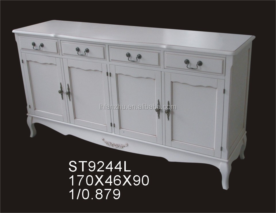 Classic Empire Style Antique Cabinet Sideboard Furniture