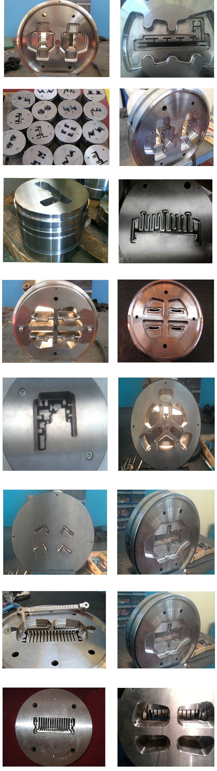 Long Life Aluminum Hot Extrusion Dies Moulds Mold