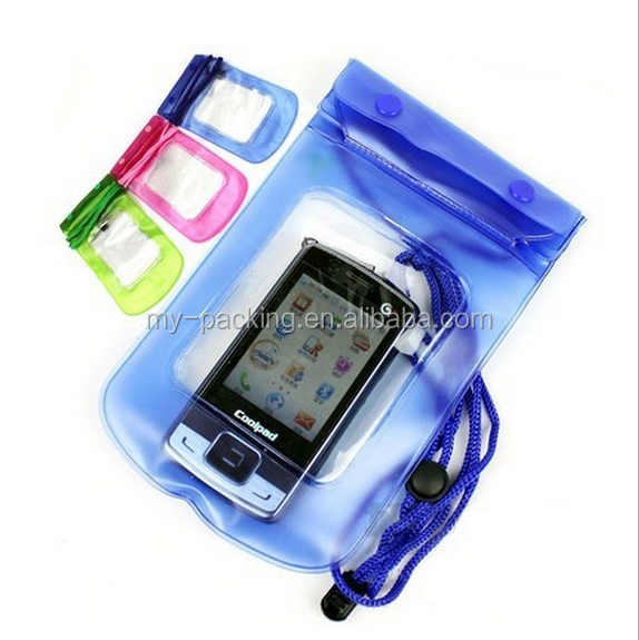 2016 promotional Mobile phone waterproof sling bag for iphone