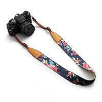 Customized Logo Fashion Polyester Camera Belt Neck Strap
