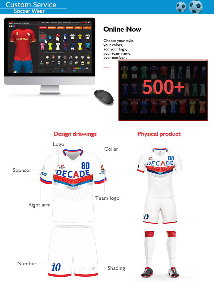 soccer uniform custom