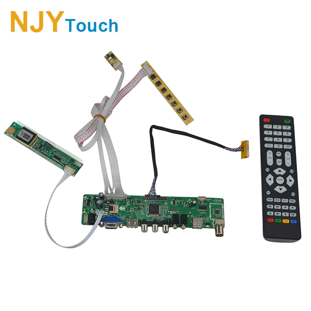 e681cd2b315 HD MI USB AV VGA ATV LCD Controller Board for 20