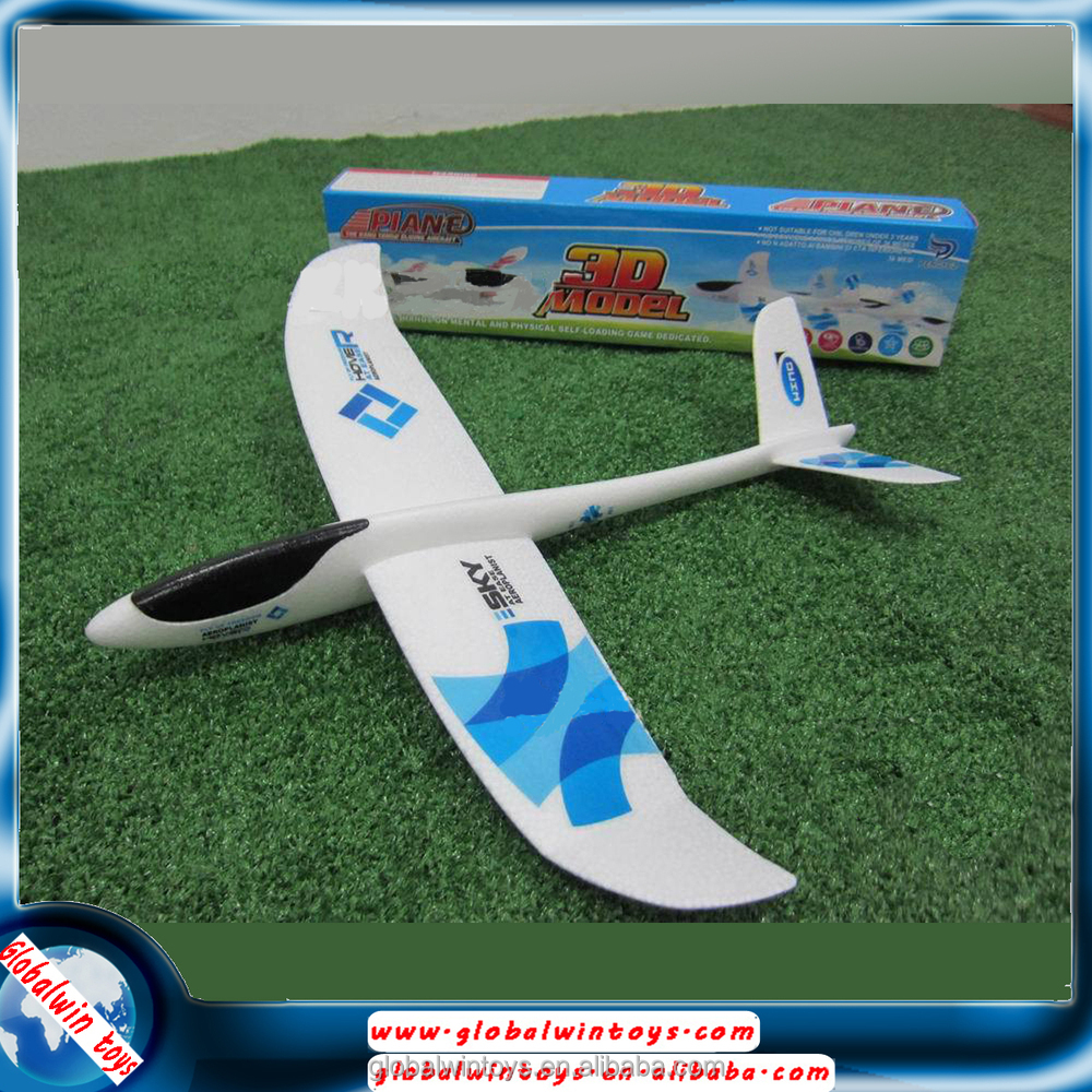 v tail gw t132 490mm hand launch aircraft epo foam plane glider
