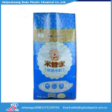China rice bag packing machine and 30kg rice bag