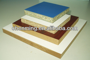 melamine faced particle board/PB