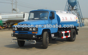 Dong Feng 4x2 water tank truck for sale in South Africa/5000L