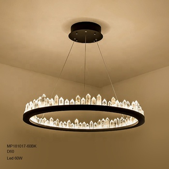 Factory price New idea hot sale lava crystal chandelier pendant lights can dimmer No RF interference Warranty 5 years