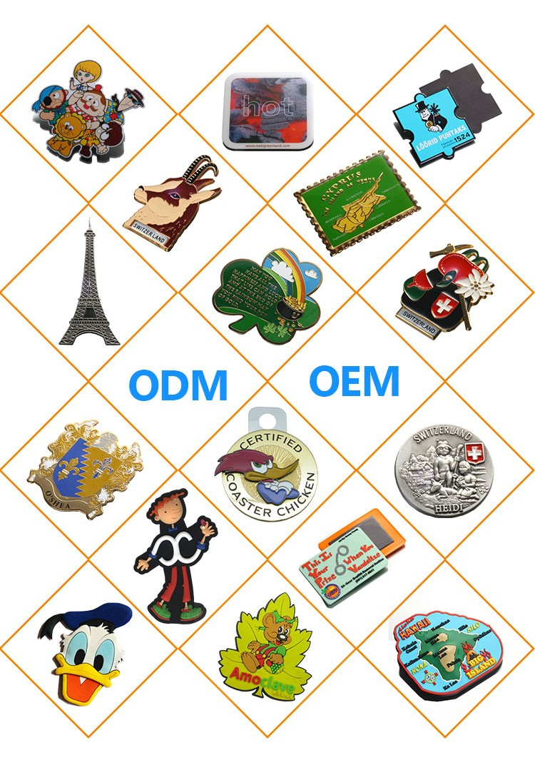 Wholesale bulk factory 3D Mario Fridge Magnet