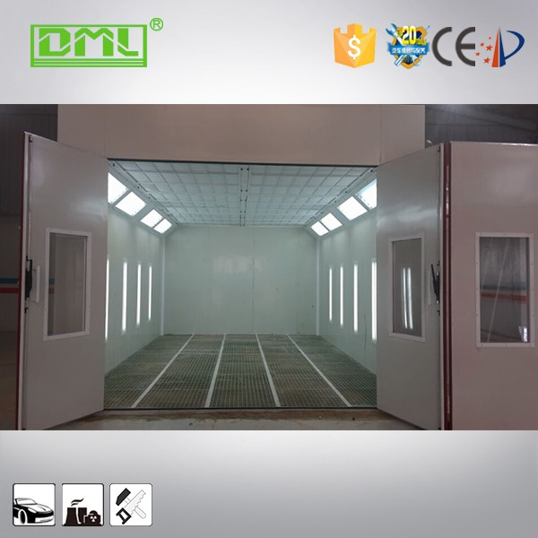 furniture spray paint booth china with Ceiling lighting and Side lighting