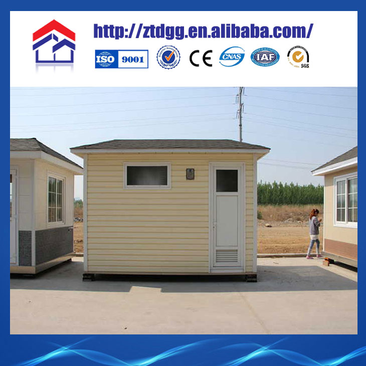 China hot sale prefabricated wood frame house