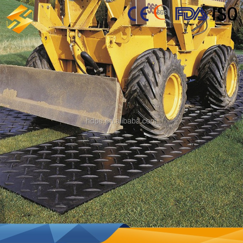 Polyethylene Plastic Temporary Driveways And Car Parks Mat Plastic Floor Mat