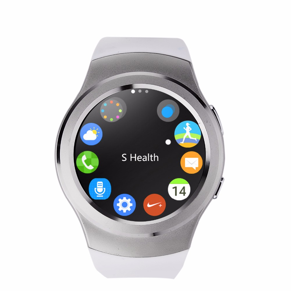 2016 New Smart Watch No1 G3 Smartwatch for all phone Heart rate Monitor Gear S2 SIM Card Smart Health Watch Smart