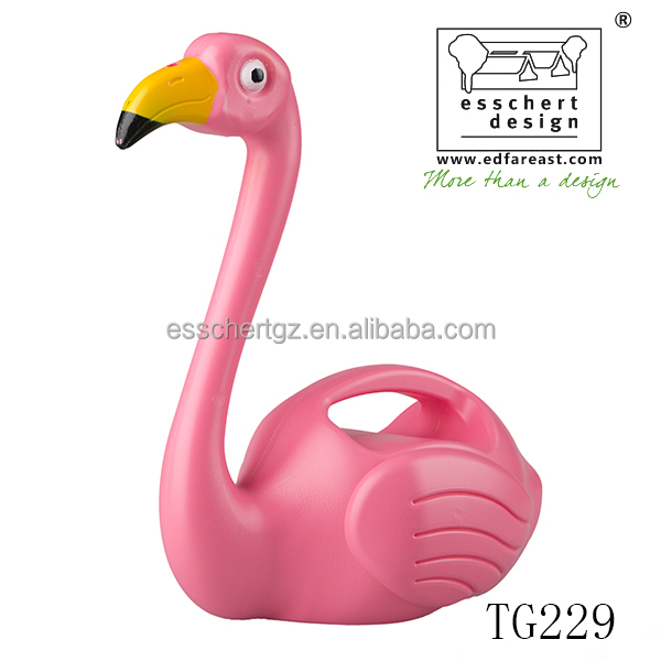 Esschert Design Hot Plastic Pink Flamingo