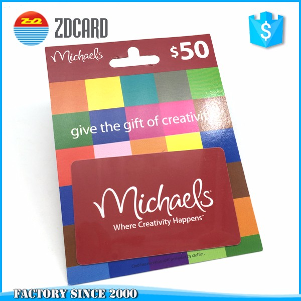 Custom Barcode Fancy Plastic Gift Cards With Gift Card Envelope Or ...
