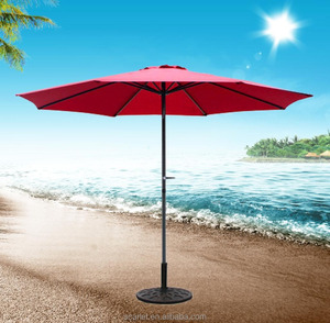Factory UV Resistant Folding Sun Outdoor Beach Umbrella, Chinese Garden Parasol
