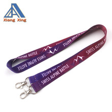 Verstelbare lengte lanyard met double ended clip/double ended clip
